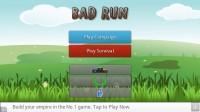 Bad Run Jump - Start Screen