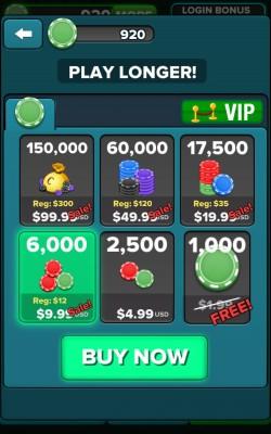 Blackjack 21 FREE - In-app Purchases