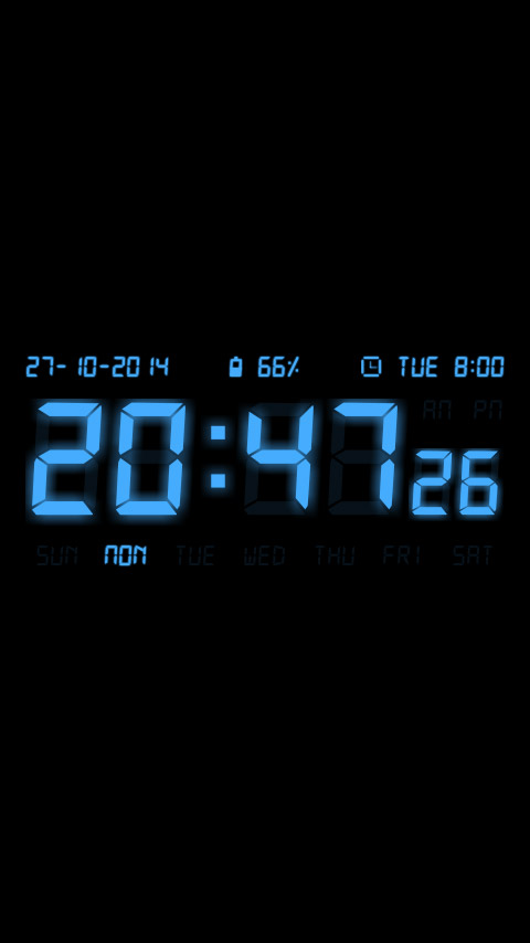 Easy Alarm Clock – customizable digital clock