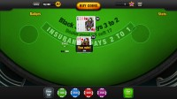 Free Blackjack App - Gameplay 1