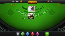 Free Blackjack App - Gameplay 1
