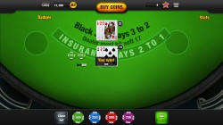 Free Blackjack App - Gameplay 2