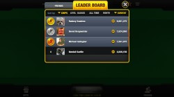 Free Blackjack App - Leaderboards
