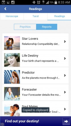 Horoscope by Astrolis - Reports
