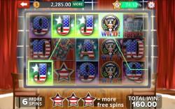 Obama Slots - Gameplay 1
