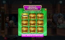 Shakespeare Slots - Bonus Treasure