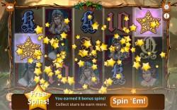 Shakespeare Slots - Free Spins Bonus