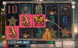 Shakespeare Slots - Gameplay 2