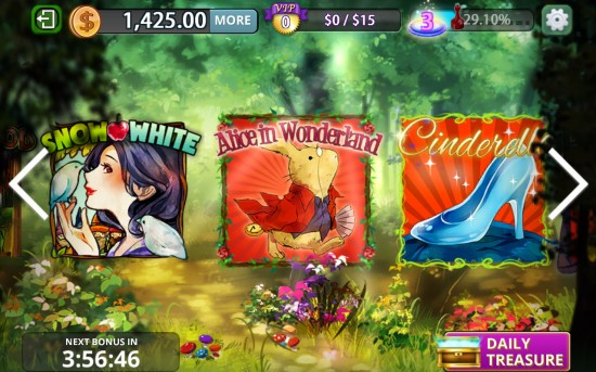 Slots Fairytale – hit the jackpot in adorable casino slots games