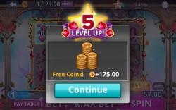 Slots Romance - Level Up Bonus