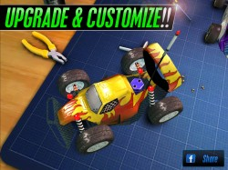 Touch Racing 2 - Upgrade and Customise