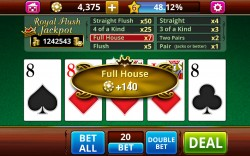 VIDEO POKER Jacks or Better - Gameplay 1