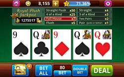 VIDEO POKER Jacks or Better - Gameplay 5