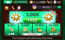 VIDEO POKER Jacks or Better - Purchase Coins