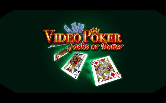 Play casino style VIDEO POKER – Jacks or Better