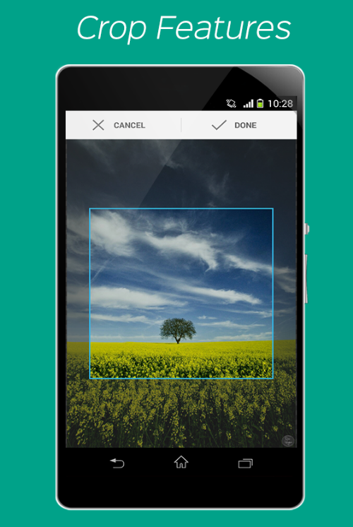 Wallpaper Effects – customizable photos into wallpapers