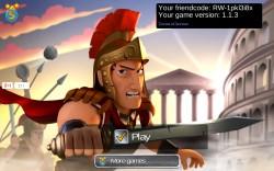 Battle Empire Roman Wars - Splash Screen