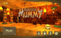 Bungee Mummy - Start Screen