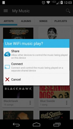 Dock and Share Wifi Music Player - (1)