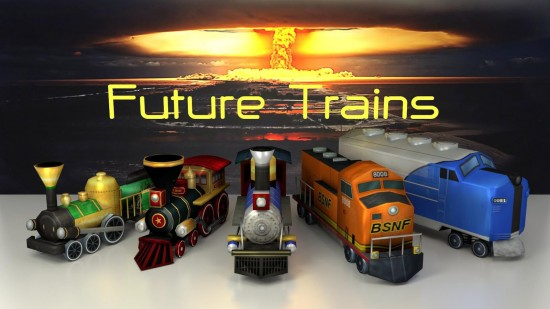 Future Trains – master a post apocalyptic strategy game