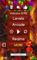 Magnetic Balls Puzzle Game - Volcano Realm