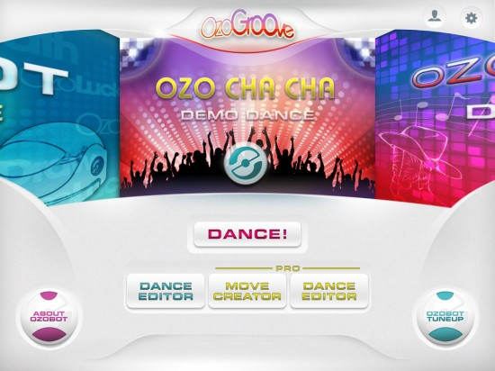 OzoGroove – new app & toy combo controls Ozobot dance moves