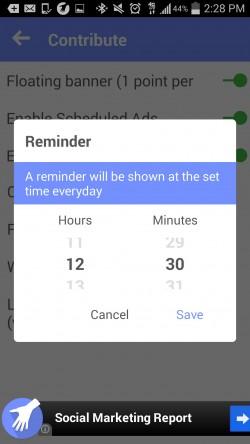 People Helping People - Set Reminders