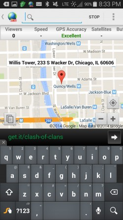 Real-Time GPS Tracker 2 - Search Locations