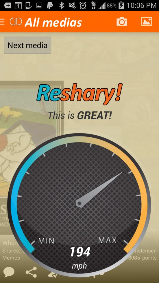 ReShary – discover & rate popular daily pics
