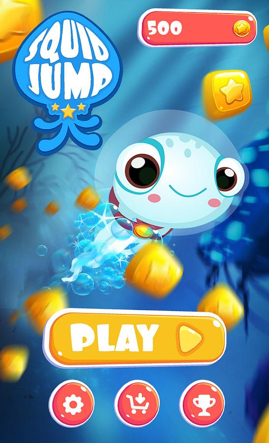 Squid Jump – tilt & jump as high as you can