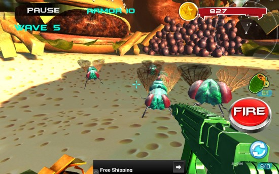Toy Hero vs Big Bugs – first person shooter