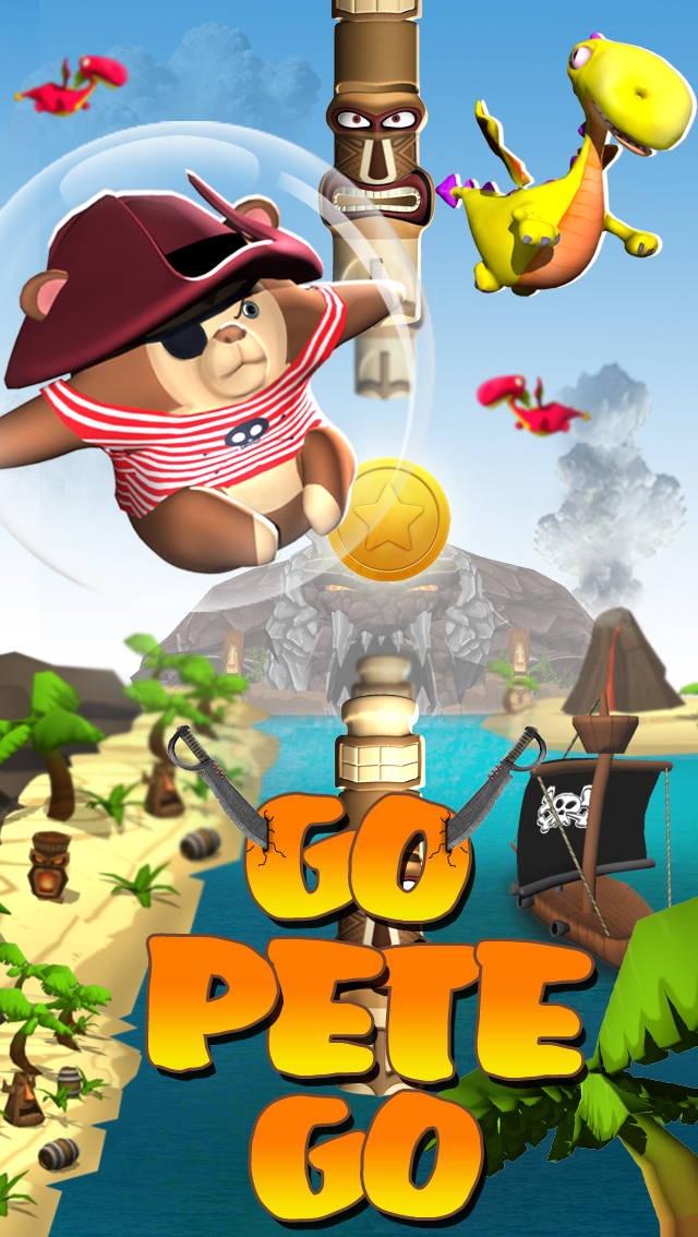 Go Pete Go – island adventure game for kids