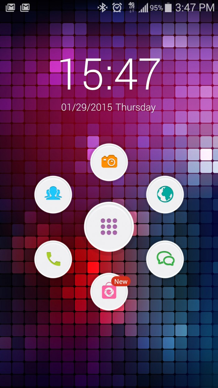 ETheme Launcher – personalize your Android with fast & slick launcher