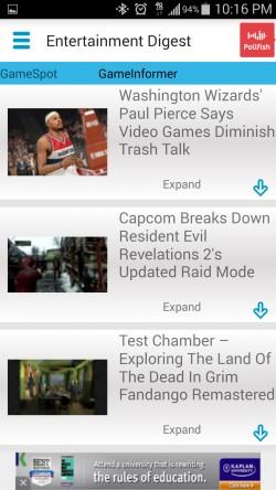 Entertainment News Digest - Gaming News
