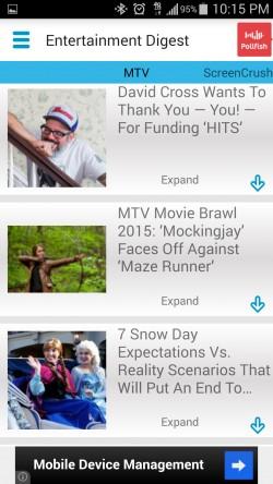Entertainment News Digest - Movie News