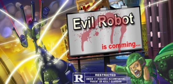 Evil Robot – be a super villain