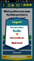 Kids Learn Football - Certificate