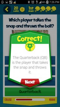 Kids Learn Football - Sample Question 2