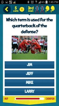 Kids Learn Football - Sample Question 4