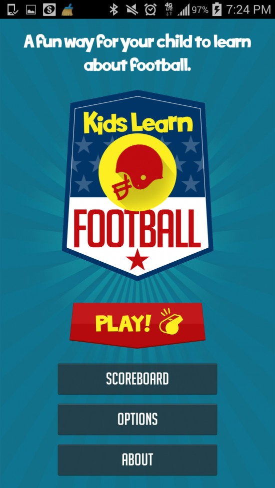 Kids Learn Football – learn rules & strategy with fun trivia