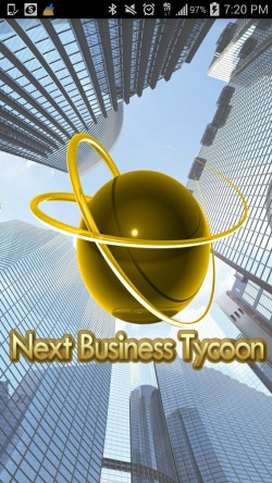 Next Business Tycoon - Splash Screen