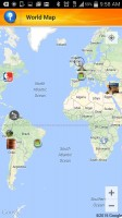 Next Business Tycoon - World Map of Businesses
