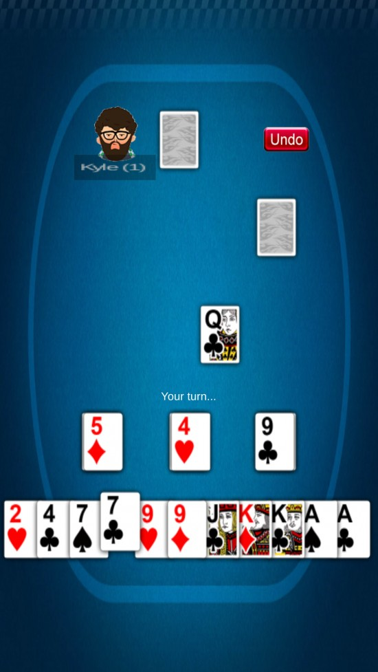 Palace – casual solitaire card