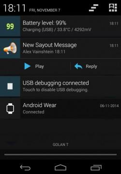 SayOut - Notification