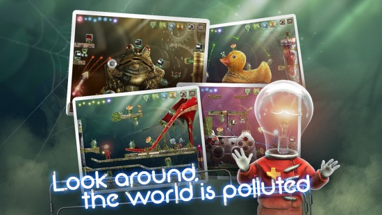 Stay Alight – epic adventure to save a polluted world