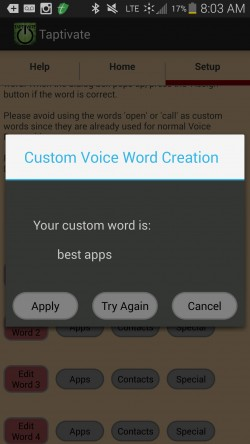 Taptivate - Action Words