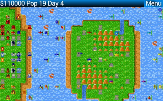 Titanium Warfare – 2D turn based strategy game