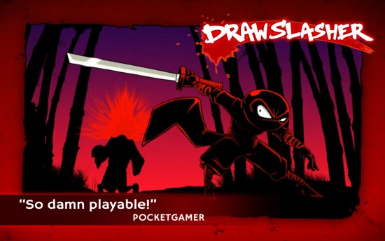 Draw Slasher – your finger is the ultimate weapon!