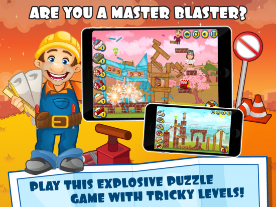 Explosion Valley – addictive building blaster game