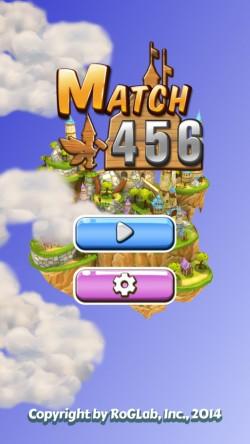 MATCH 456 - Start Screen